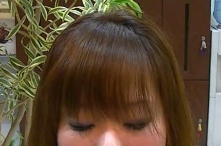 前髪の乾かし方5