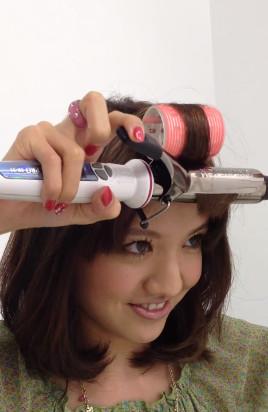 前髪セットの仕方3