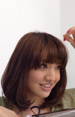 前髪セットの仕方7