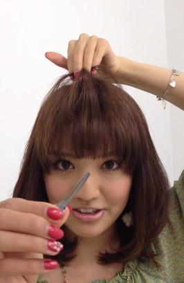 前髪セットの仕方8