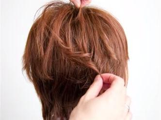 ショートヘアアレンジ