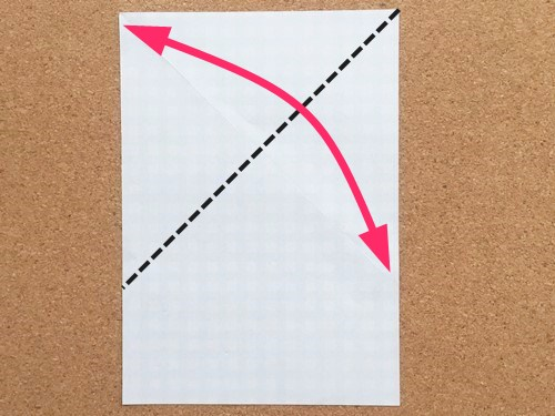 ハート2の折り方2