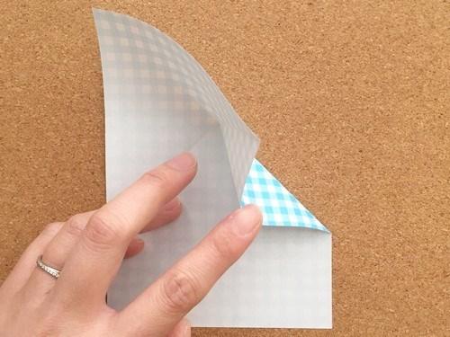 ハート2の折り方4