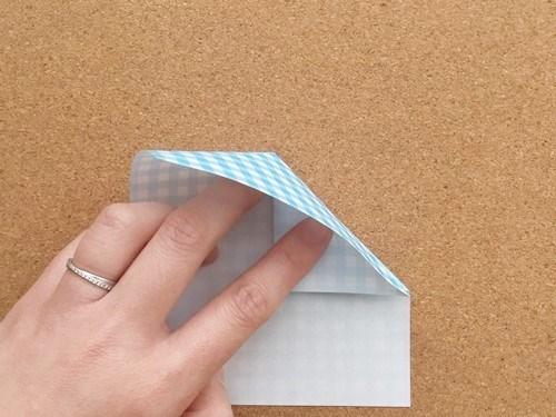 ハート2の折り方5
