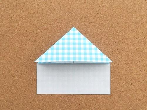 ハート2の折り方7