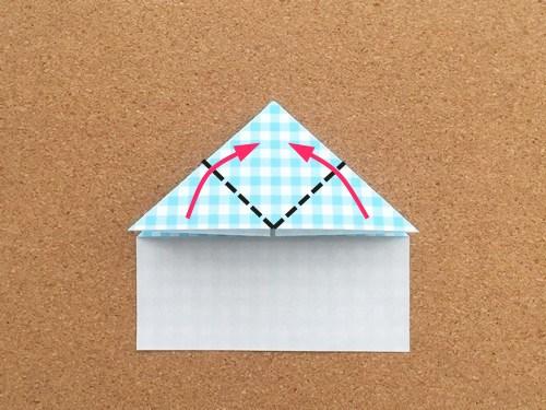 ハート2の折り方8