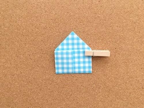 ハート2の折り方14