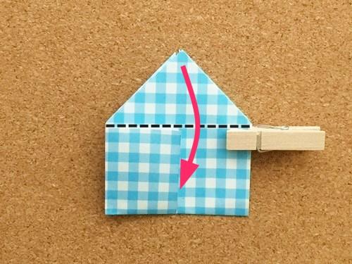 ハート2の折り方15