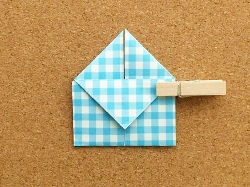 ハート2の折り方16