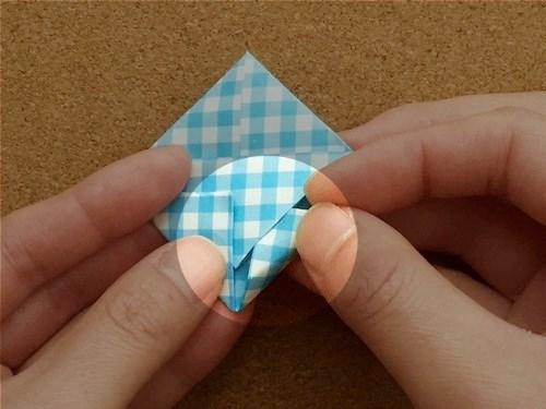 ハート2の折り方19