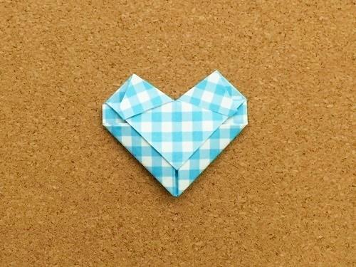 ハート2の折り方25