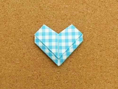 ハート2の折り方26