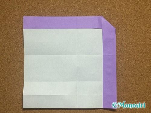 折り紙でアルファベットのAの折り方15