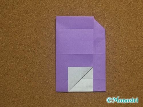 折り紙でアルファベットのAの折り方25