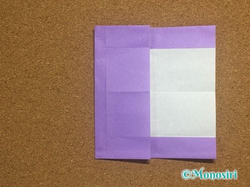 折り紙でアルファベットのEの折り方14