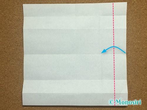 折り紙でアルファベットのHの折り方10