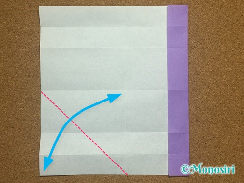 折り紙でアルファベットのHの折り方12