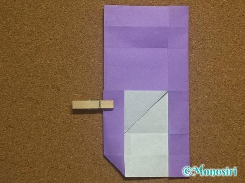 折り紙でアルファベットのHの折り方18