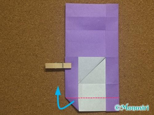 折り紙でアルファベットのHの折り方19