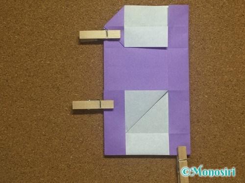 折り紙でアルファベットのHの折り方24