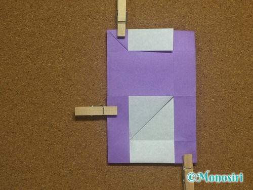 折り紙でアルファベットのHの折り方26