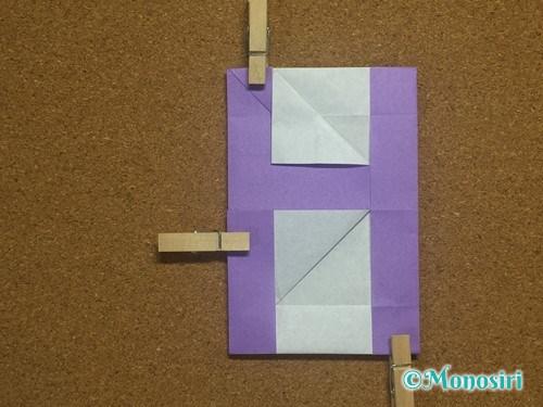 折り紙でアルファベットのHの折り方28