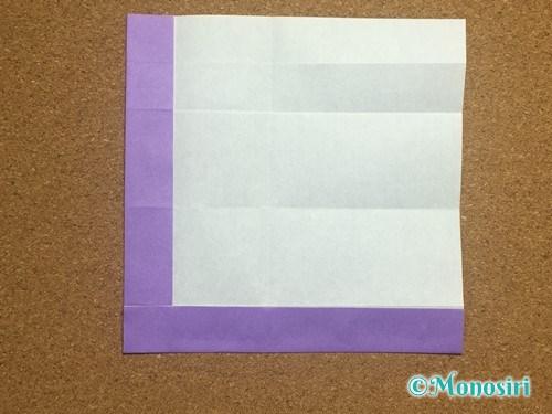 折り紙でアルファベットのLの折り方13