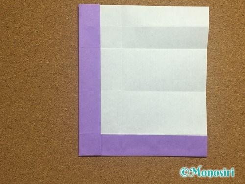 折り紙でアルファベットのLの折り方15