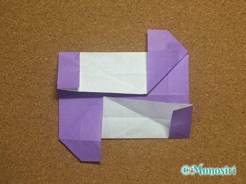 折り紙でアルファベットのNの折り方24