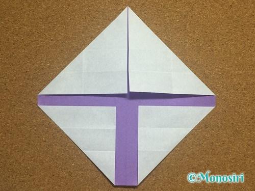 折り紙でアルファベットのYの折り方14