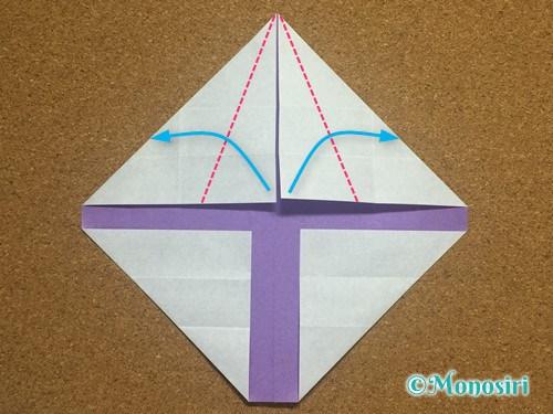 折り紙でアルファベットのYの折り方15