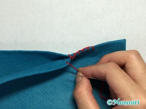 ブランケットステッチの縫い方11