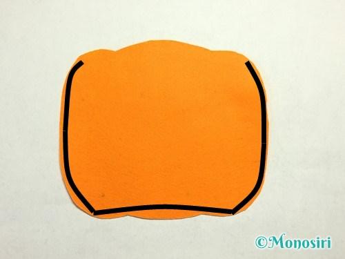 ハロウィンのかぼちゃバッグの作り方10