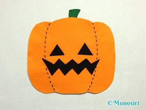 ハロウィンのかぼちゃバッグの作り方11