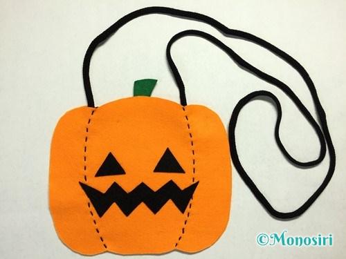 ハロウィンのかぼちゃバッグの作り方13