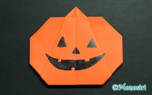 すべての折り紙 折り紙 かぼちゃ : ハロウィンの折り紙飾りの ...