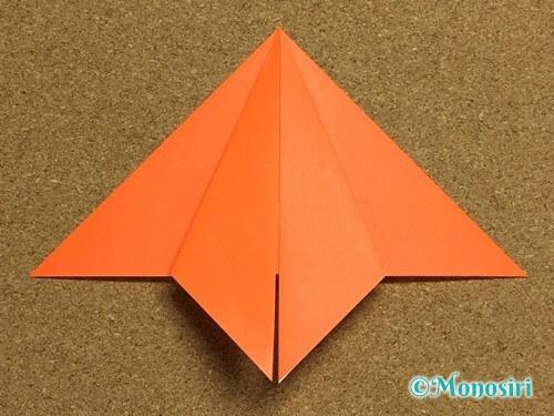 折り紙でかぼちゃの作り方10