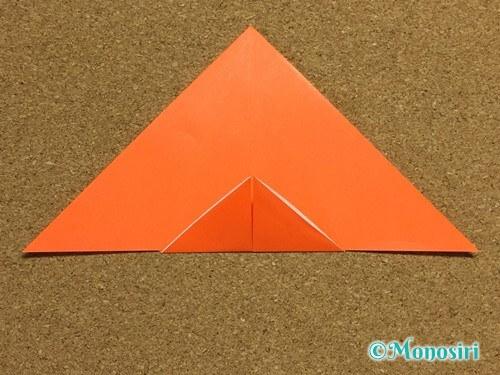 折り紙でかぼちゃの作り方12