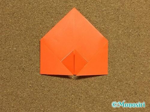 折り紙でかぼちゃの作り方14