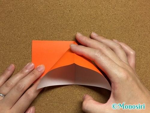 折り紙でかぼちゃの作り方6