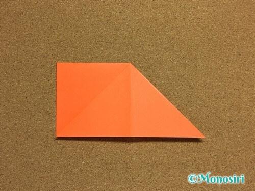 折り紙でかぼちゃの作り方7