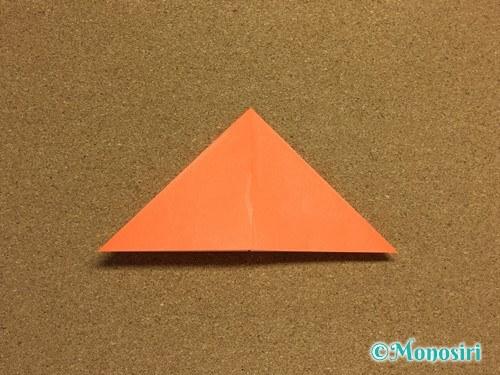 折り紙でかぼちゃの作り方8