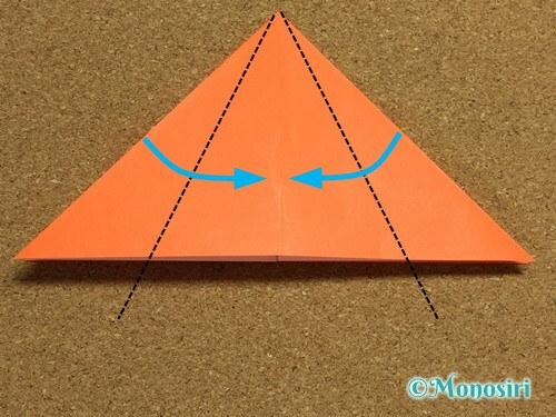 折り紙でかぼちゃの作り方9