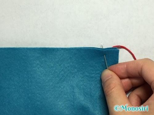 巻きかがりの縫い方2