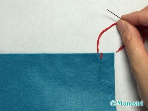 巻きかがりの縫い方3
