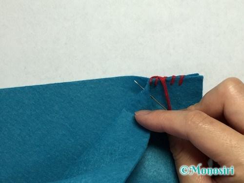 巻きかがりの縫い方6
