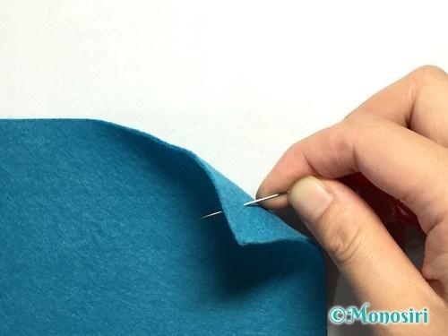 ランニングステッチの縫い方1