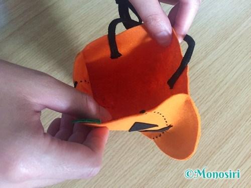 ハロウィンのかぼちゃバッグの作り方12