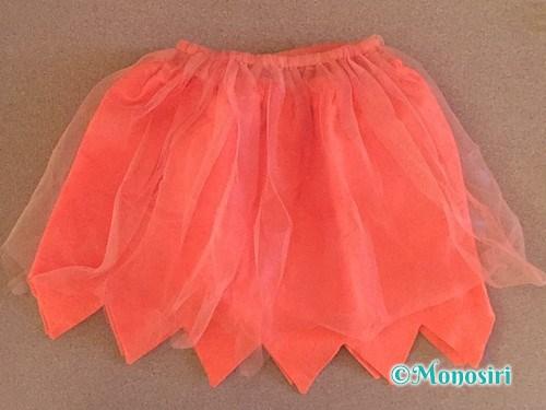 セリアのハロウィンスカート