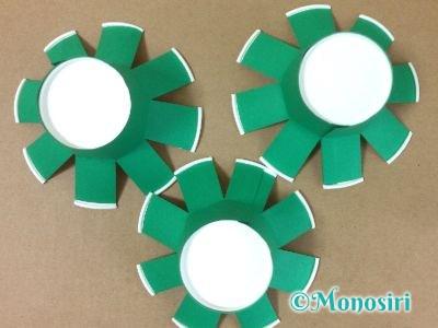 紙コップでクリスマスツリーの作り方8